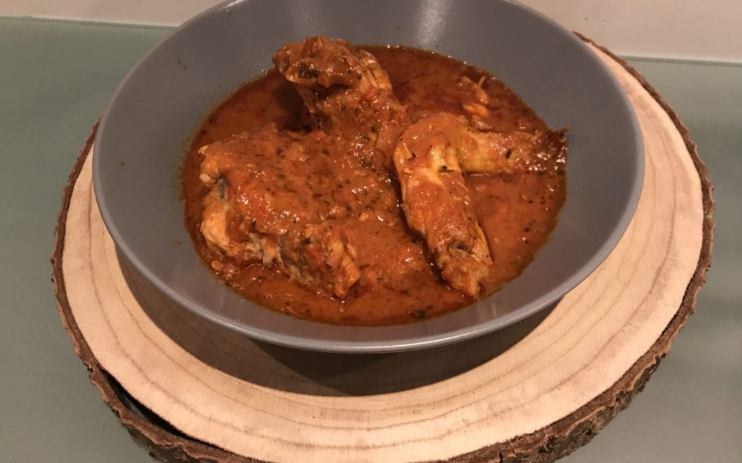Pollo version Tikka Masala con Thermomix (low carb)