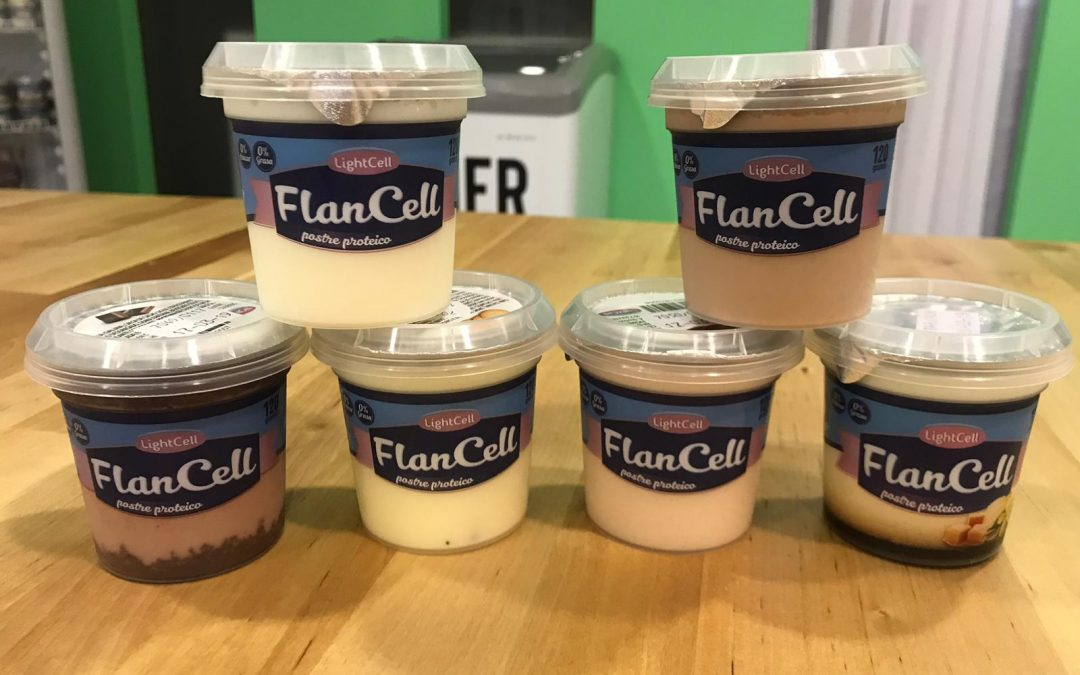 Flanes saludables FlanCell de LightCell